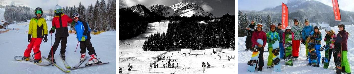 Imagini tabere de iarna in Austria - Ski si snowbarding in Bad Aussee