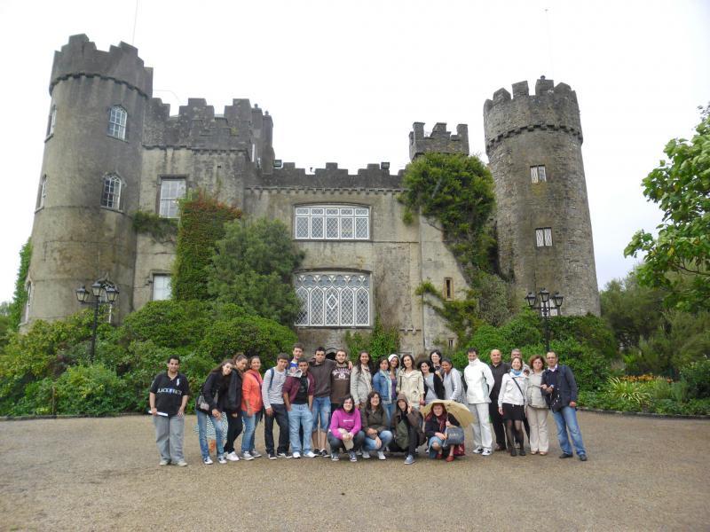 Tabara Engleza in Irlanda