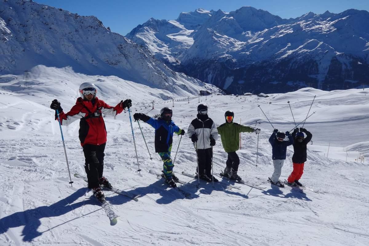 Tabara de schi, snowboard