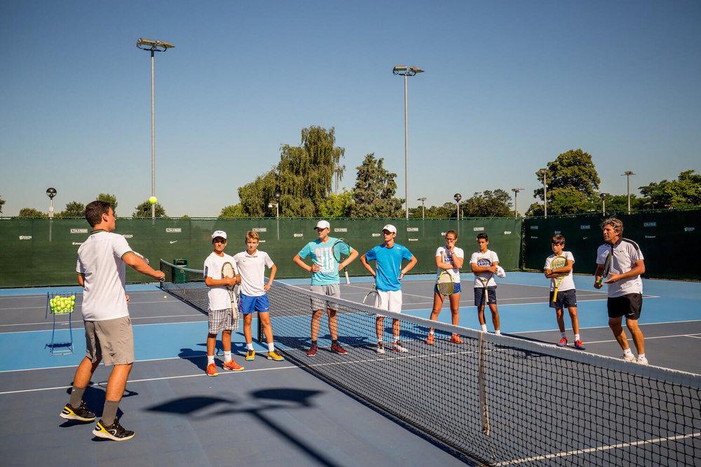 Tabara de tenis