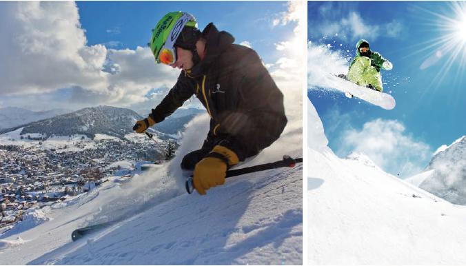Tabara de schi in Elvetia